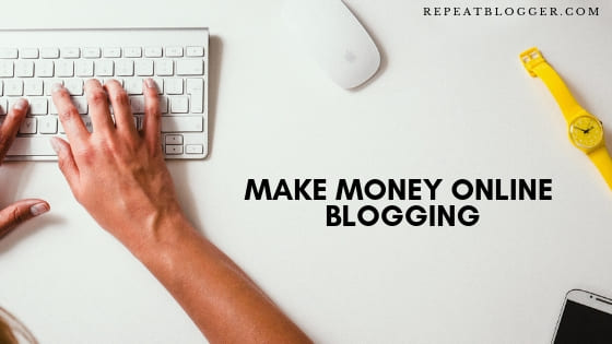 Make Money Blogging Picture, In How To Generate Blog Post Ideas Fast For Beginners Post.
