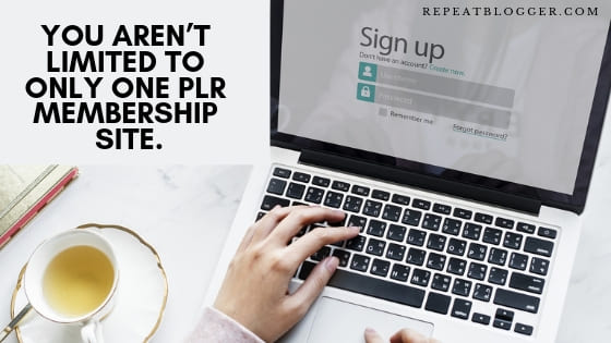 Not limited to only one plr membership site, In How To Generate Blog Post Ideas Fast For Beginners Post.