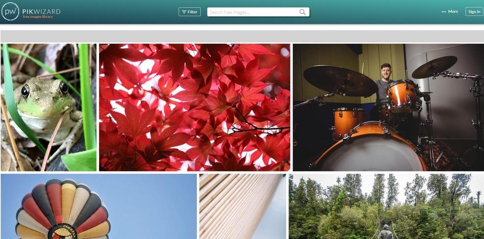 Pikwizard's homepage