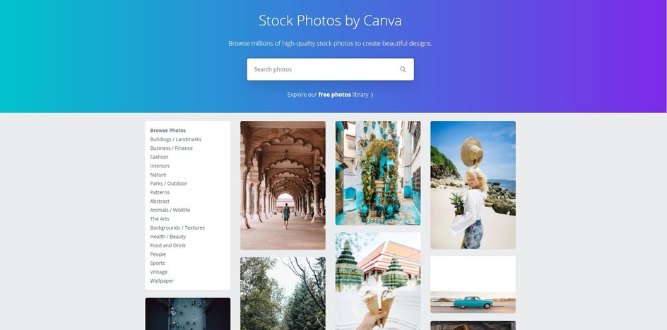 Stock Photos By Canva