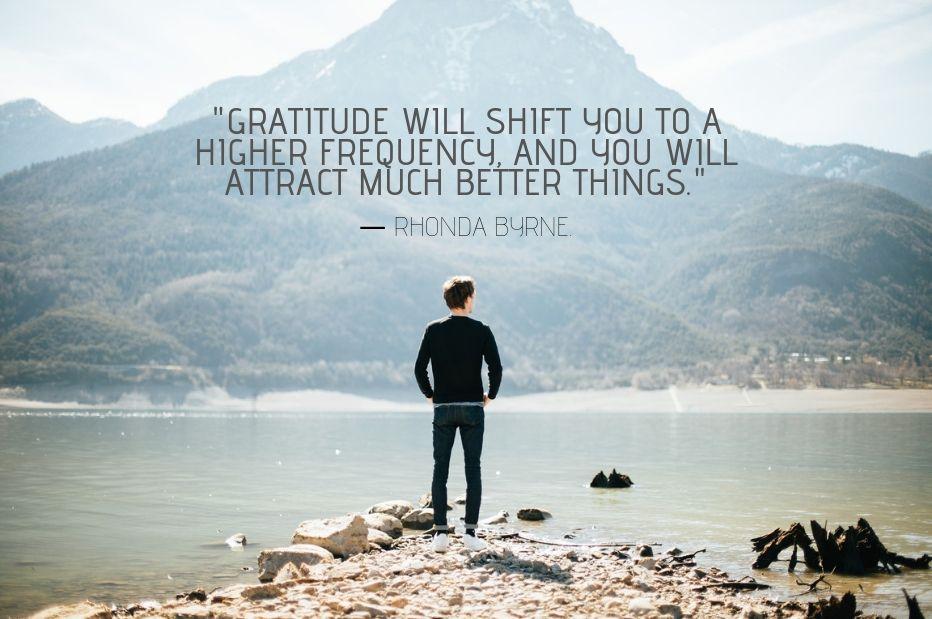 Gratitude Quote By RHONDA BYRNE