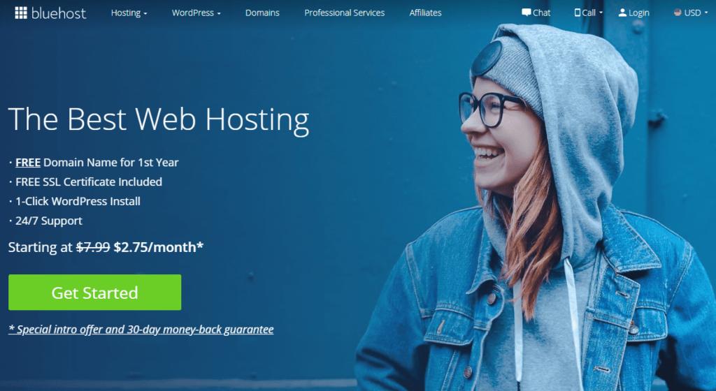 Best Web Hosting Services - Bluehost