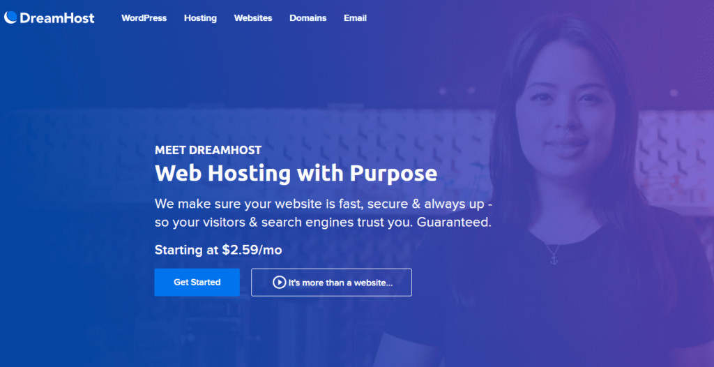 DreamHost Hosting