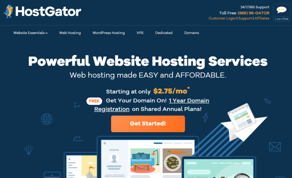 HostGator - Best Web Hosting