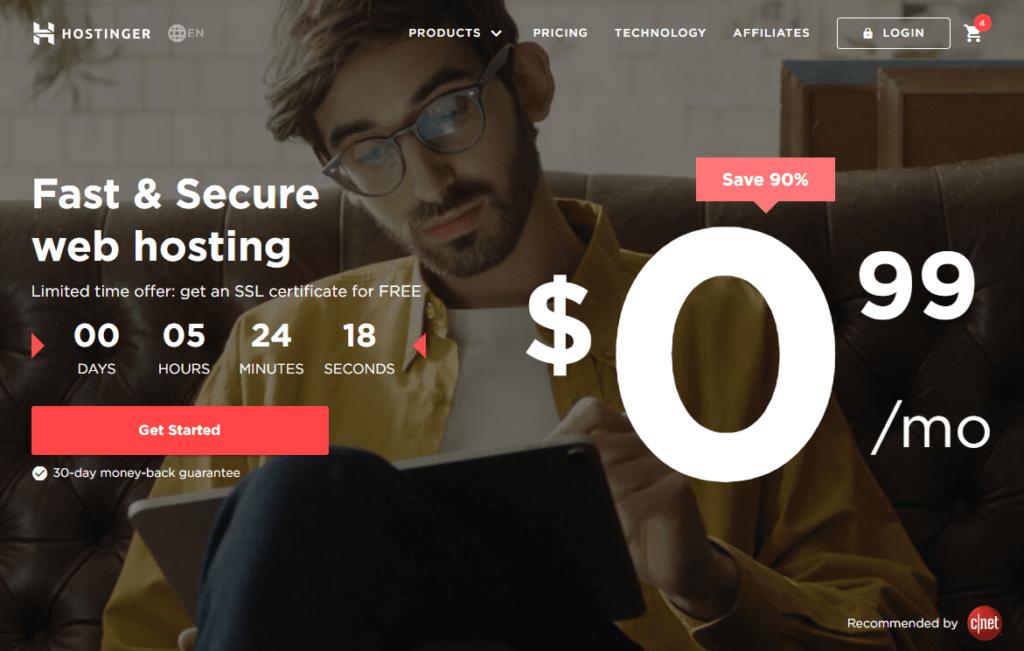 Hostinger Hosting - Best Cheap Web Hosting Service