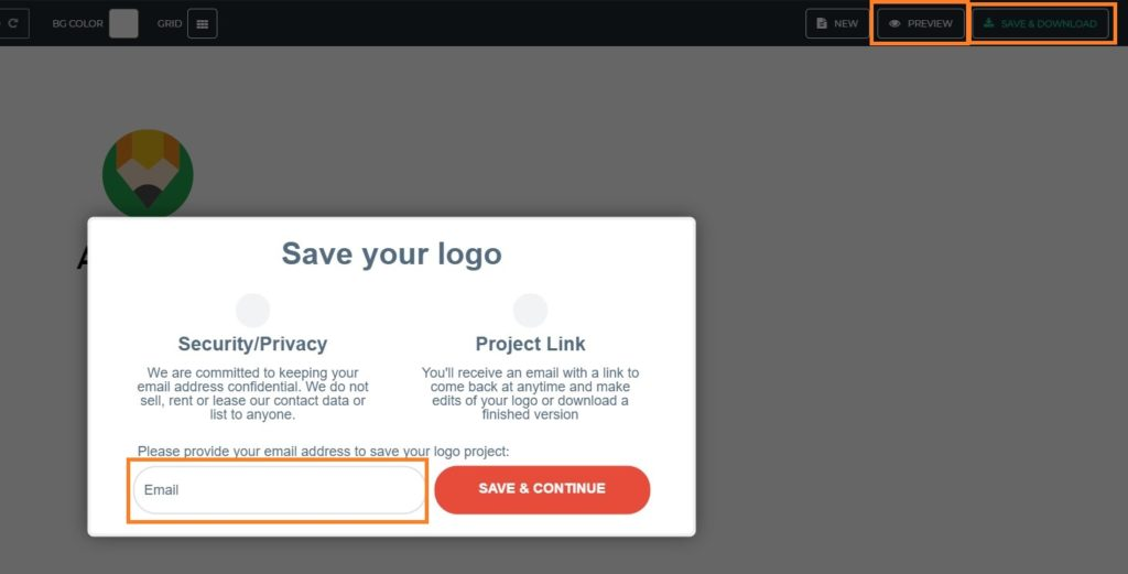 The Hoth Logo Maker - Save and Download Logo