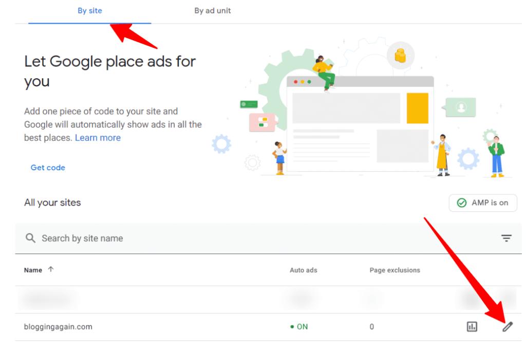 Google AdSense Auto Ads Page