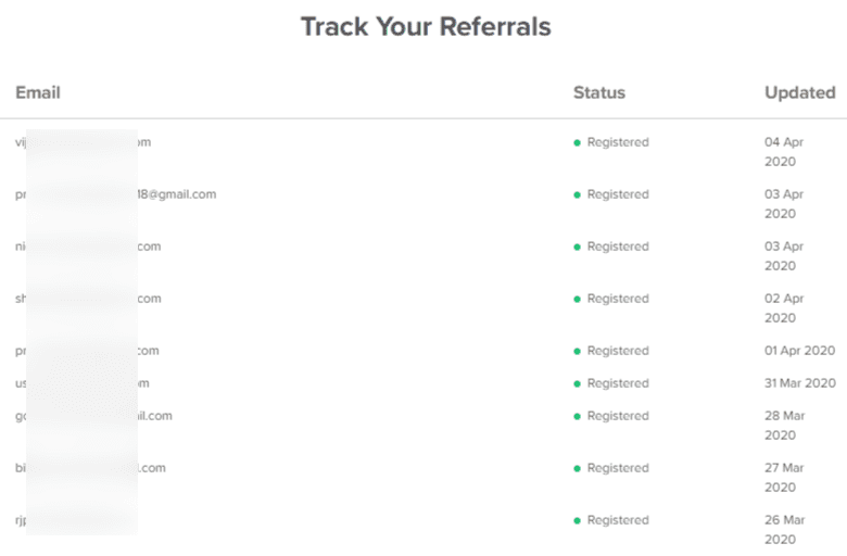 Affiliate Referrals